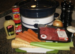 Easy recipe for Slow cooker beef stew