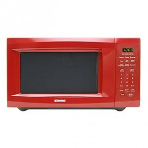 RED Kenmore microwave