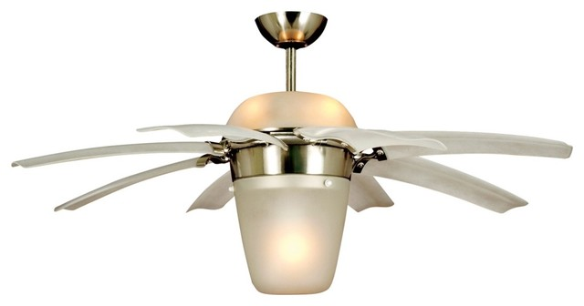 Airlift Brushed Steel Ceiling Fan