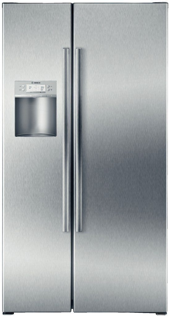 Stainless steel counter depth side by side refrigerator energy star