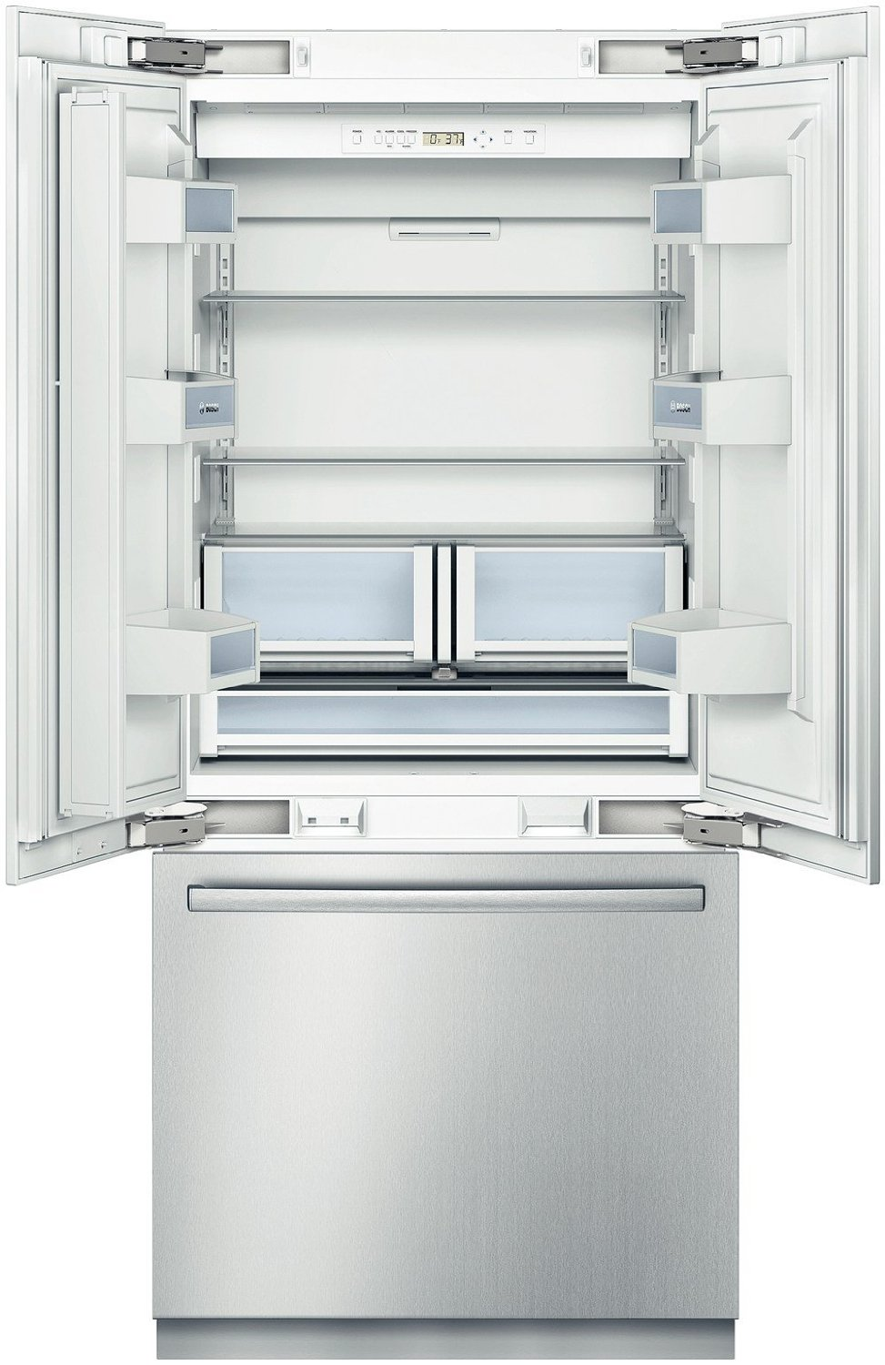 Bosch B36BT830NS 800 20.0 Cu. Ft. Stainless Steel Counter Depth Built In  French