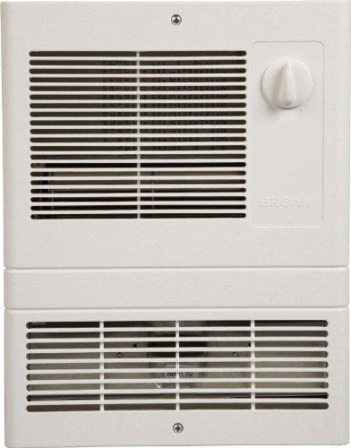 Broan Model 9815WH High Capacity Wall Heater with 1500 Watt Fan