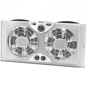 Dual Blade Twin Window Fan
