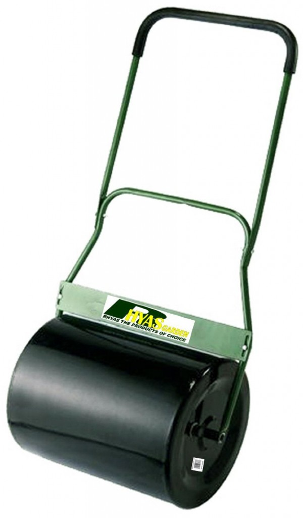 Garden Lawn Roller Steel 20 50mm Soft Grip