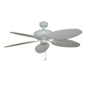 Harbor Breeze 52 inches Tilghman Matte White Ceiling Fan