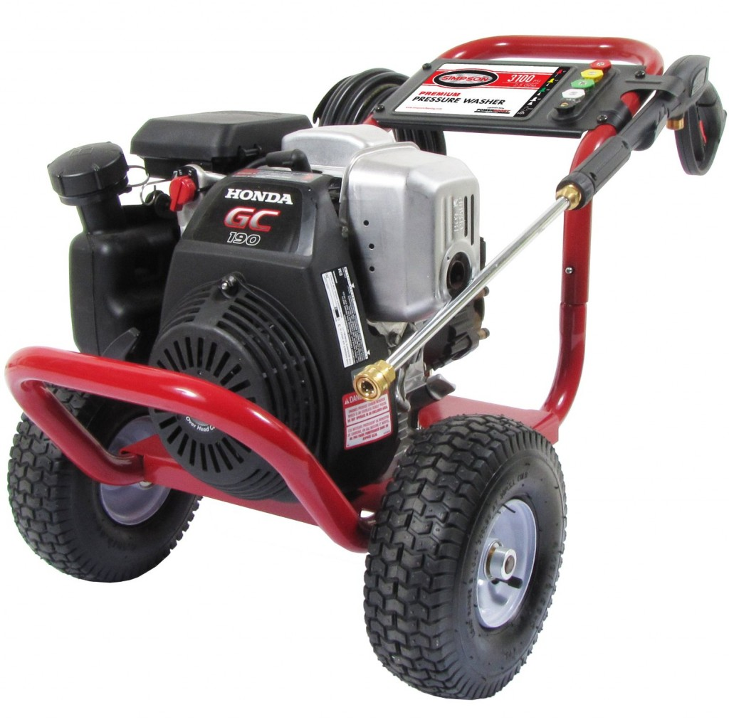 Homelite Honda 3,100-psi Pressure Washer