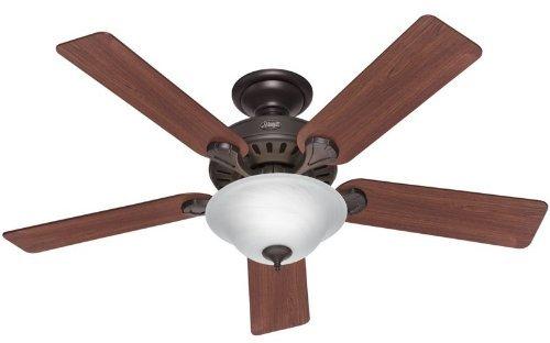 Hunter 28724 Pro's Best 52-Inch 5-Blade Single Light Five Minute Ceiling Fan