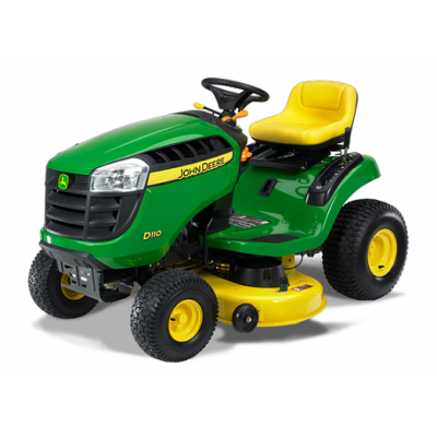 John Deere D110 42 in. 19.5 HP Front-Engine Hydrostatic Riding Mower