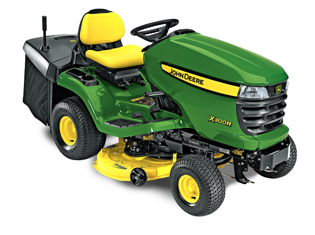 John Deere X300R 42-in Rear Discharge Deck Riding Lawn Mower