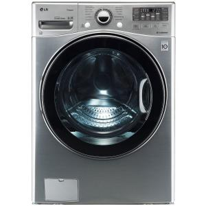 LG Electronics 4.0 DOE cu. ft. High-Efficiency Front Load Washer in Graphite Steel, ENERGY STAR