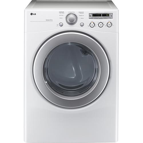 LG Electronics 7.1 cu. ft. Electric Dryer in White