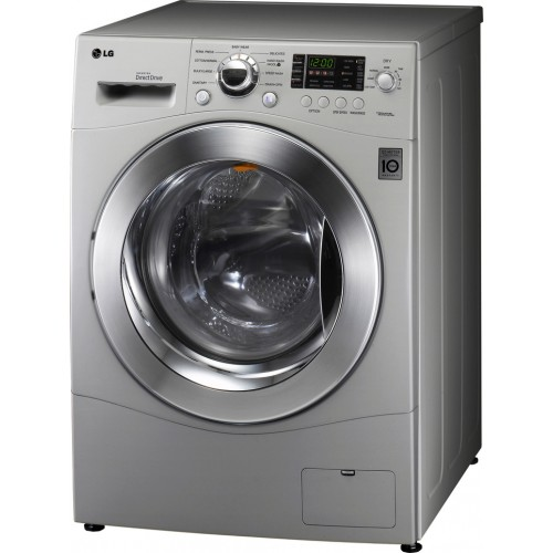 LG WM3455HS 24 Front Load Compact Washer Dryer Combo , 2.7 cu. ft. Capacity – Silver