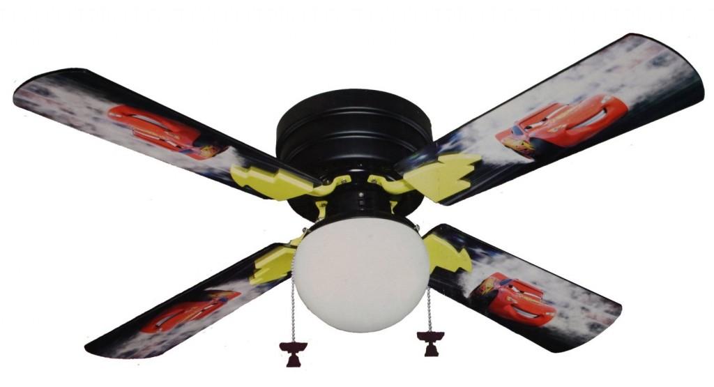 Lightning McQueen ceiling fan