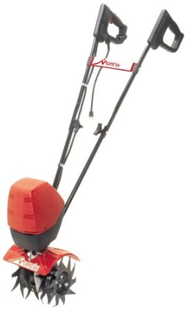 Mantis 7250-15-02 3-Speed Electric Tiller Cultivator with Border Edger and Kickstand