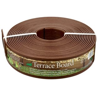 Master Mark Plastics 93340 40-Foot x 3-Inch Terrace Board Landscape Edging