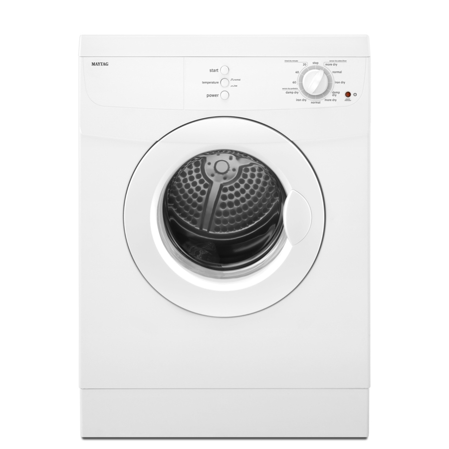 Maytag 3.8 cu. ft. Electric Dryer in White