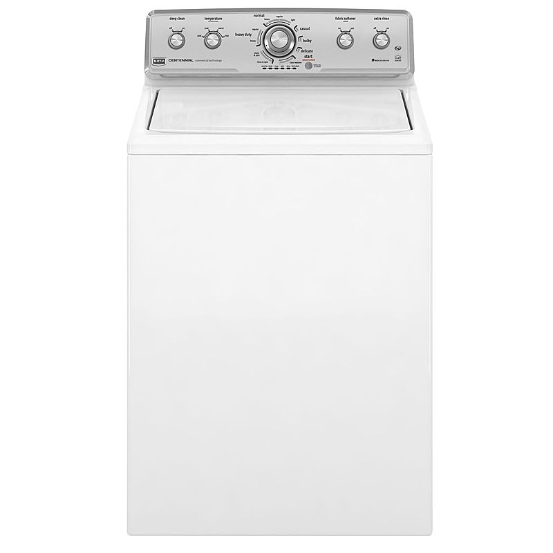 Maytag Centennial 3.6 cu. ft. High-Efficiency Top Load Washer in White, ENERGY STAR