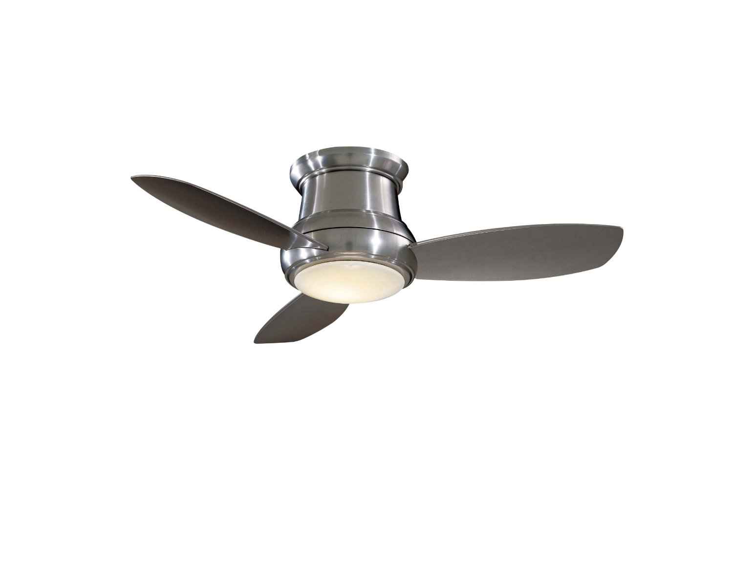 Flush Mount Ceiling Fans With Light And Remote Control