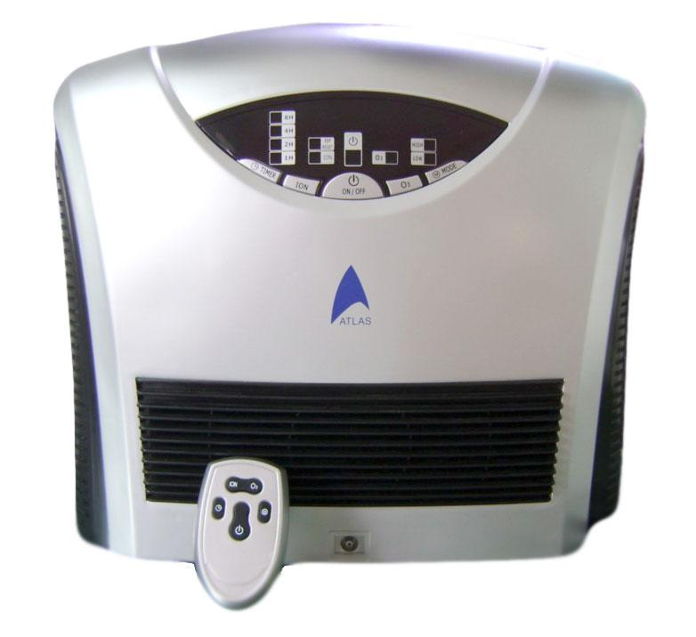 Ozonator with Two Electrostatic Precipitators (Esp) Air Purifier  and it comes with 1 yr warranty