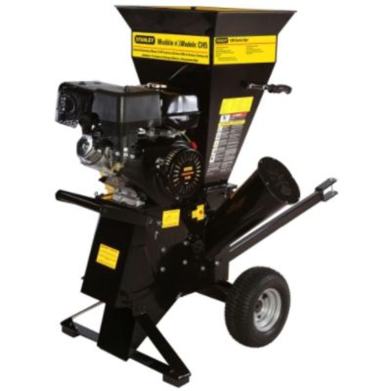 Stanley 4 in. 15 HP 420 cc Commercial-Duty Electric Start Chipper Shredder