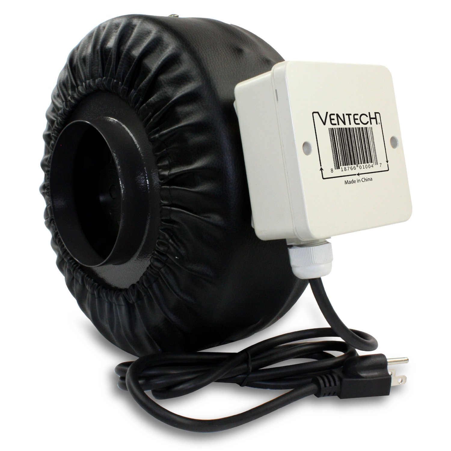 VenTech 8 inch Inline Exhaust Fan Blower Centrifugal Fan #736A58