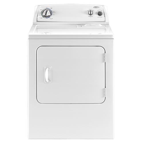 Electric Dryer: Whirlpool 7.0 Cu Ft Electric Dryer In White on