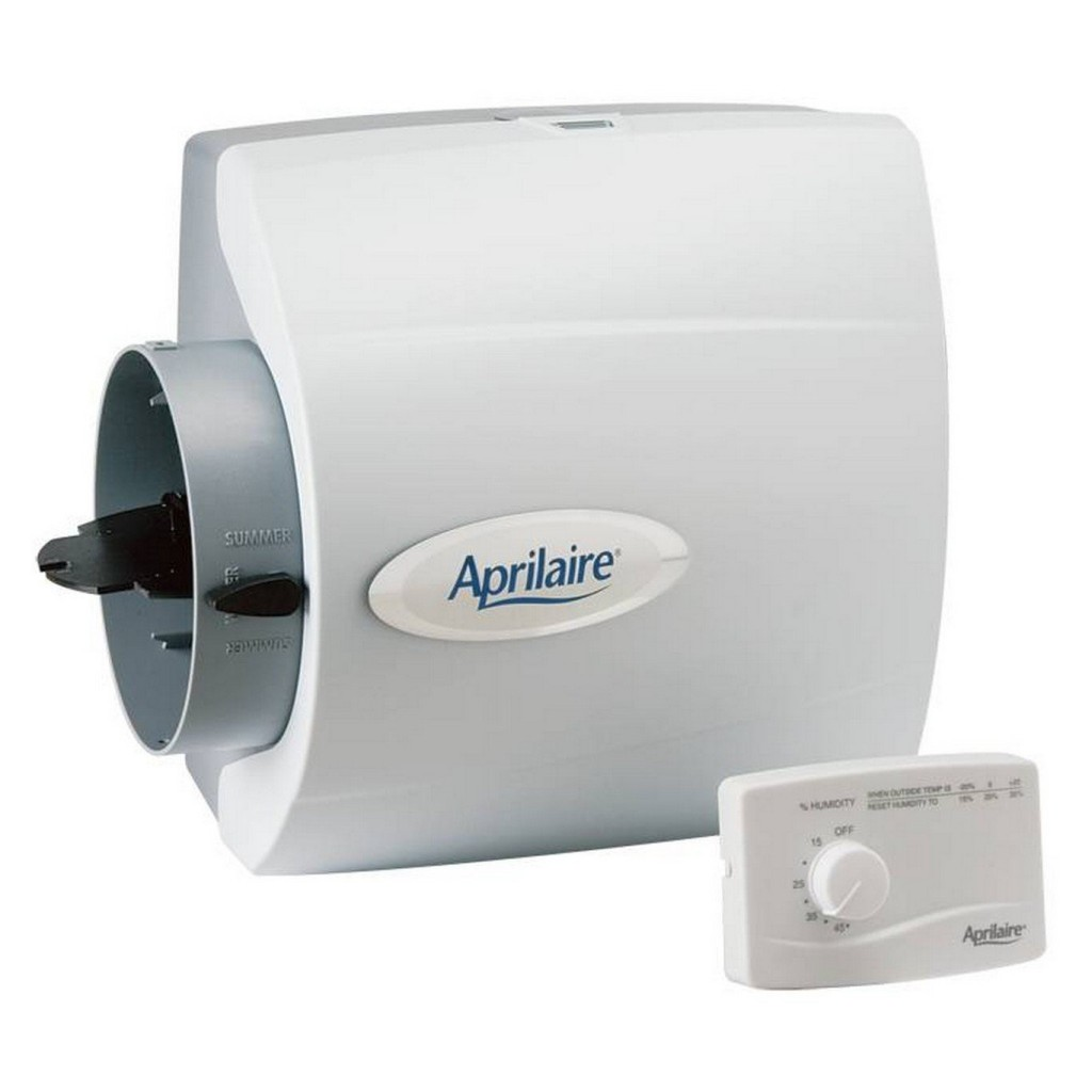 Aprilaire Model 500m Whole house Bypass Humidifier with Manual Control #344B5D
