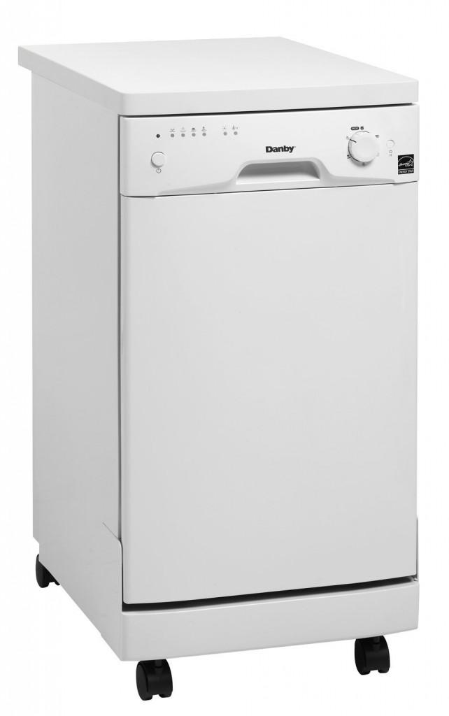 Countertop Dishwasher Price Check : Danby DDW1899WP 8 Place Setting Portable Dishwasher ? White