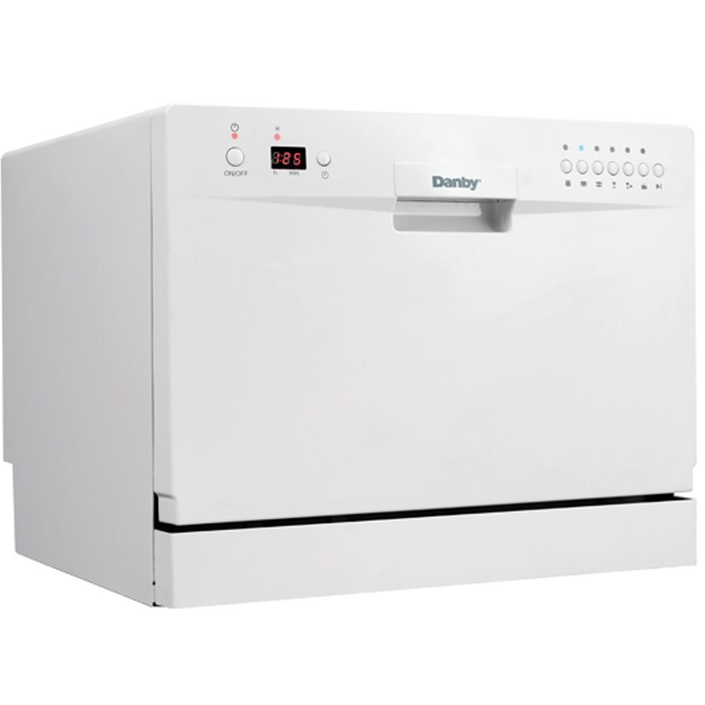 Danby DDW611WLED Countertop Dishwasher ? White