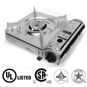 GAS ONE Stainless Steel Portable Gas Stove UL and CSA List