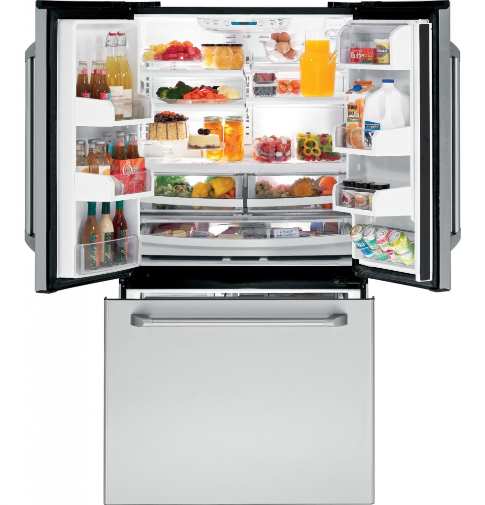 GE Cafe series 20.7 Cu Ft Refrigerator
