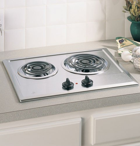 GE  JP201CBSS 21in Electric Cooktop