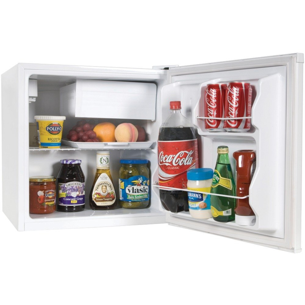 Haier Hcr17w 1 7 Cubic Feet Refrigerator Freezer White