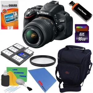 Nikon D5100 16.2MP CMOS
