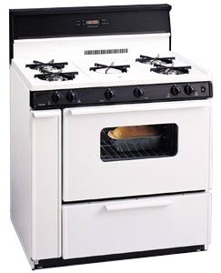 5 Beat 36 Inch Gas Range