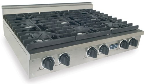 Pro-Style Natural Gas Cooktop
