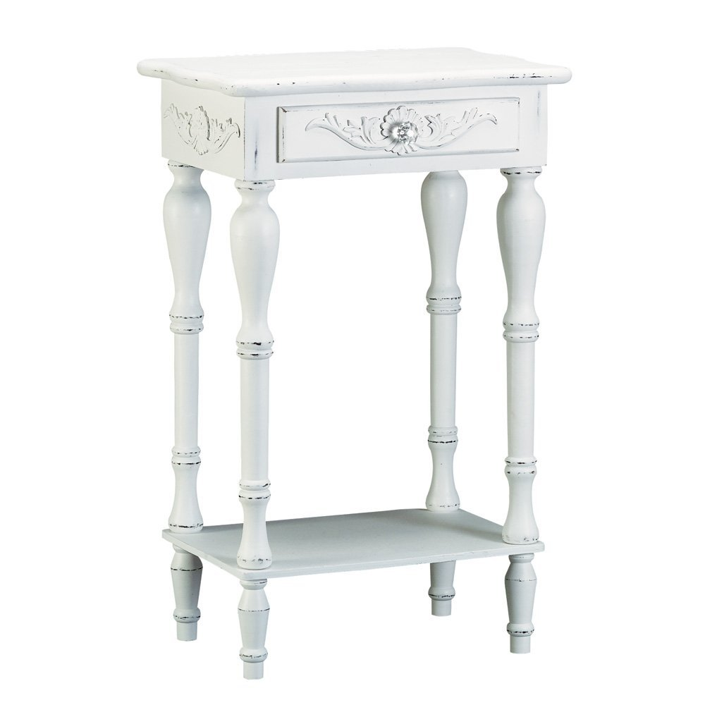 5 best shabby chic coffee tables a mixture combining for White end table