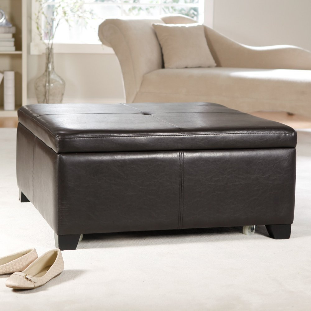 Corbett Coffee Table Storage Ottoman