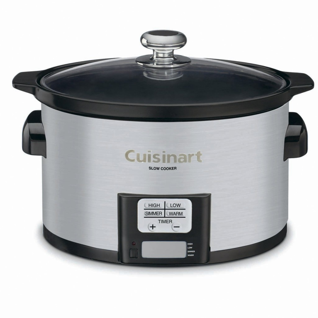 Cuisinart PSC Stainless Steel Programmable Slow Cooker