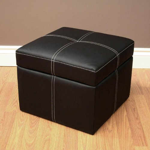 Dorel Home Products Delaney Small Square Ottoman