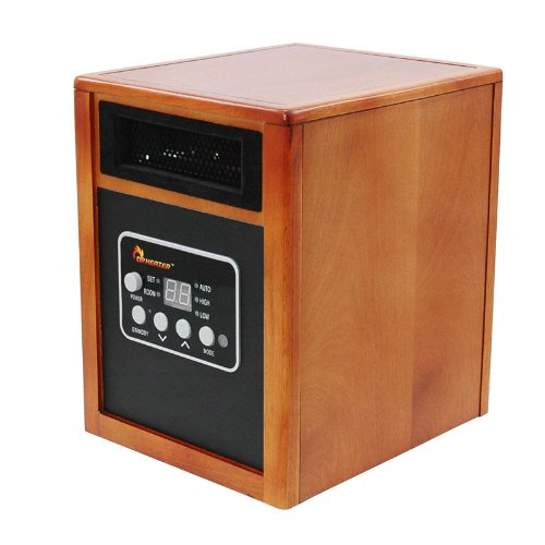 Dr Infrared Heater Quartz + PTC Infrared Portable Space Heater