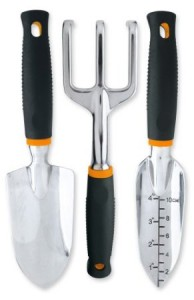 Fiskars 7067 3-Piece Softouch Garden Tool Set