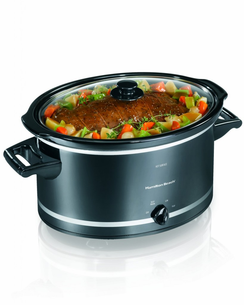 Hamilton Beach 33182 8-Quart Oval Slow Cooker