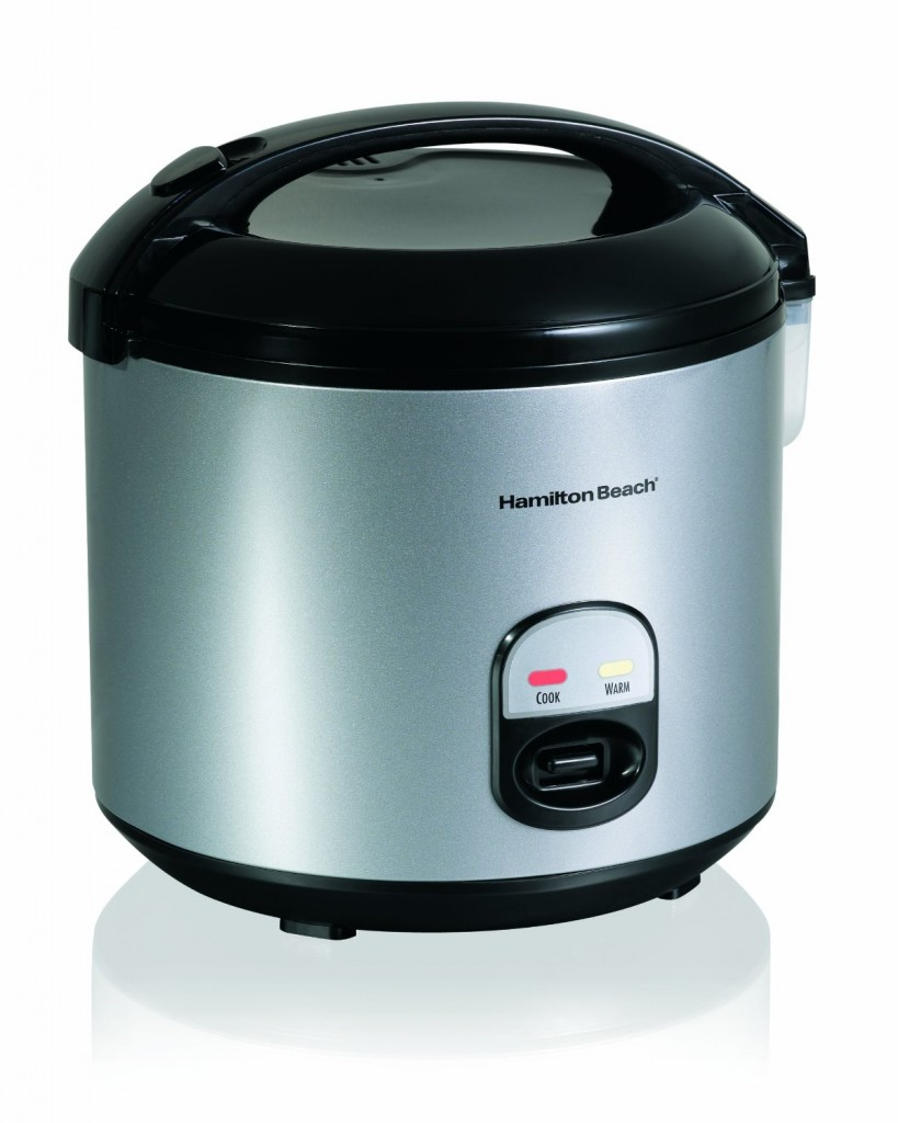 Hamilton Beach 4-Cup to 20-Cup Rice Cooker and Food Steamer