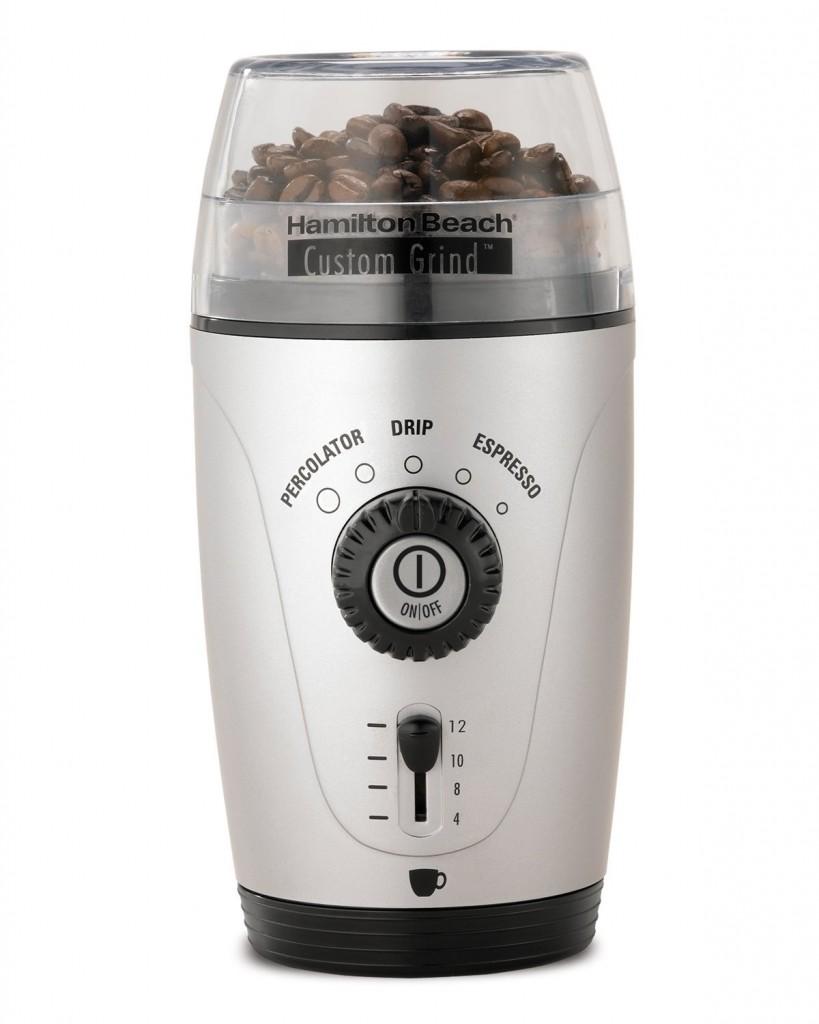 Hamilton Beach Custom Grind Coffee Grinder