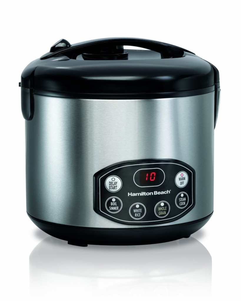 Hamilton Beach Digital Simplicity Deluxe Rice Cooker