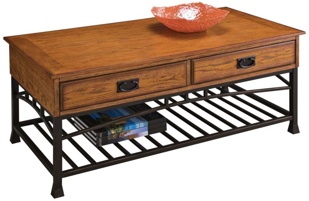 Home Style 5050-21 Modern Craftsman Coffee Table