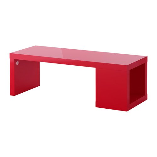 LACK,Coffee table, high gloss red