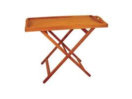 Nyatoh Hardwood Adjustable Coffee Table