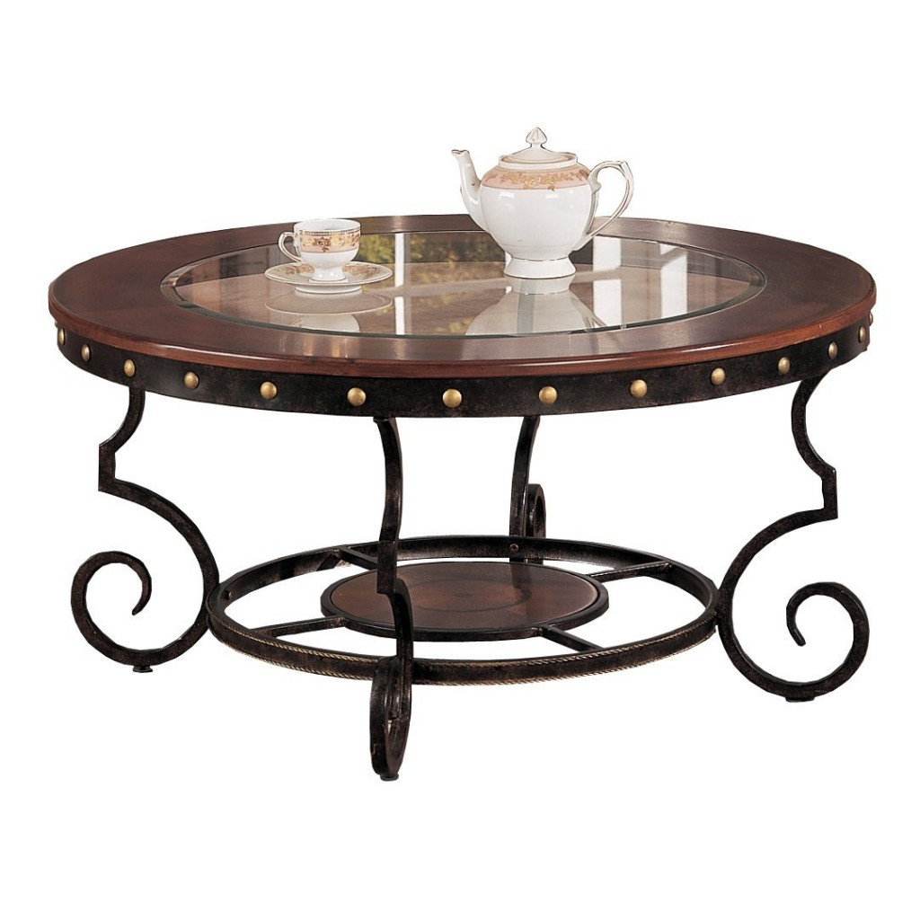 Best Wrought Iron Coffee Tables Iron Legs For A Strong Structure